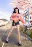 少女の旅行 咲里 148cm 巨乳 清純系 3D本物質感 等身大人形 TPE製ラブドール