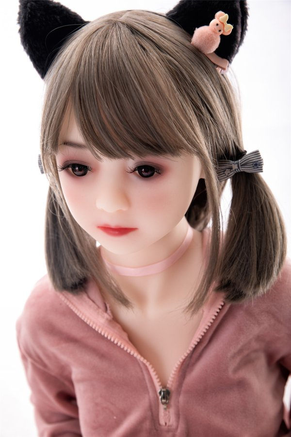 童顔系のラブドール 晴日 130cm 貧乳 TPE製リアルドール 日本語発声対応可