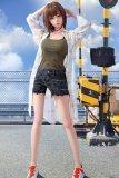 スポーツ型 朱莉156cm 巨乳 清楚系 Lumiparty人気リアルドール 等身大人形 医療用TPE素材ラブドール