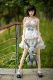 限定版ラブドール!! 148cm 浅川 軽量化 衣装、靴、トイを付いて、掲載写真のママに出荷 清純少女 ダッチワイフ