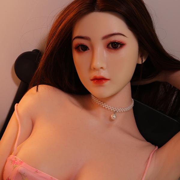 大セール! 人気モデル 紫桜里 168cm 巨乳 シリコンヘッド+TPEボディ 等身大リアルドール 血管メイク無料 美人系ダッチワイフ