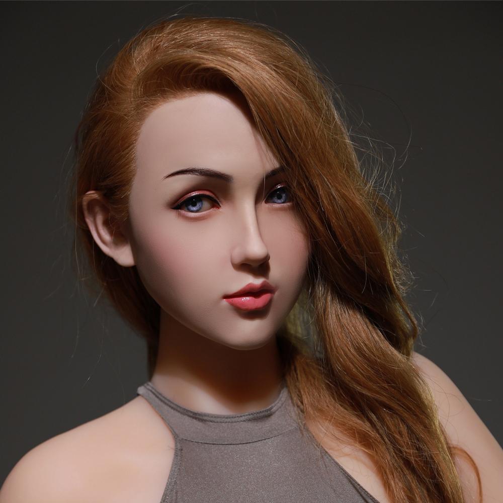 大セール!欧米系美人 ベラ 170cm 美乳 シリコンヘッド+TPEボディ 血管メイク無料 等身大ダッチワイフ