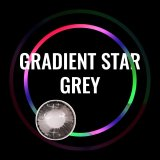 Gradient Star Grey