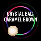 Crystal Ball Caramel Brown