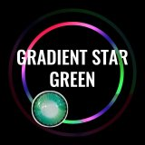 Gradient Star Green