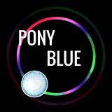 Pony Blue