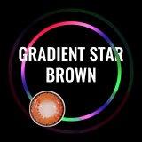 Gradient Star Brown