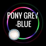 Pony Grey-Blue