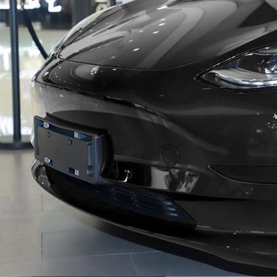 Front Bumper Tow Hook Cover for 2017-2020 Model 3