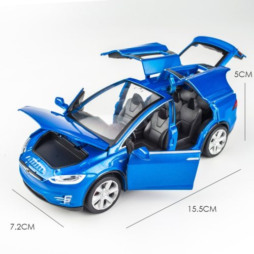 1:32 Alloy Tesla Car Model X