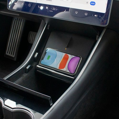 10W Fast Wireless Charge Car Charging Pad  for Tesla Model 3