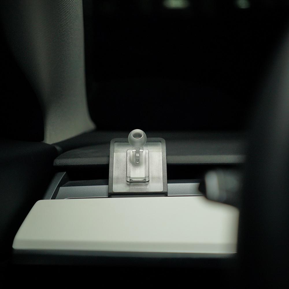 WAT Magnetic Hard Transparent Plastic  Phone Holder For Model 3/Y