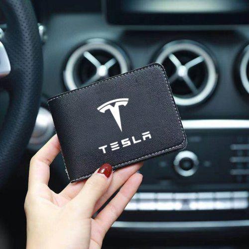 Credit Card Holder For Tesla