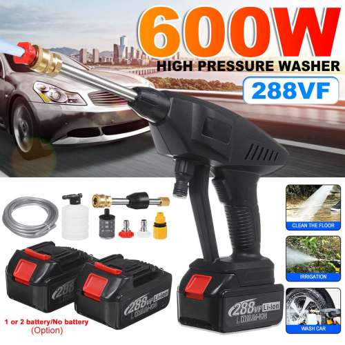 Portable Car Washer Shower High-Pressure Wireless