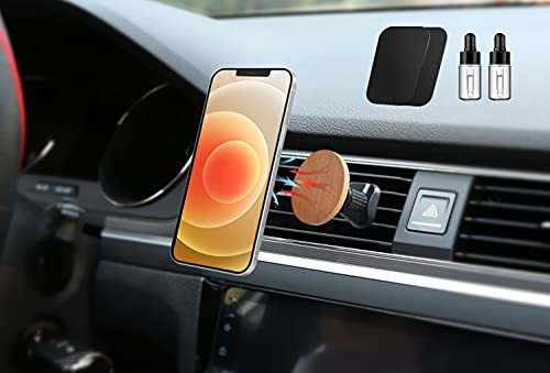 WAT Magnetic Car Phone Holder of iPhone MagSafe Series