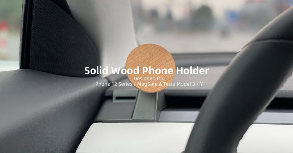 WAT magnetic phone holder poster 2
