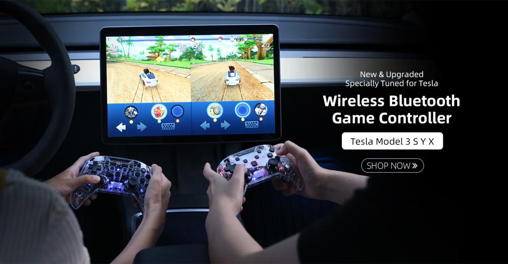 Tesla Game Controller Poster