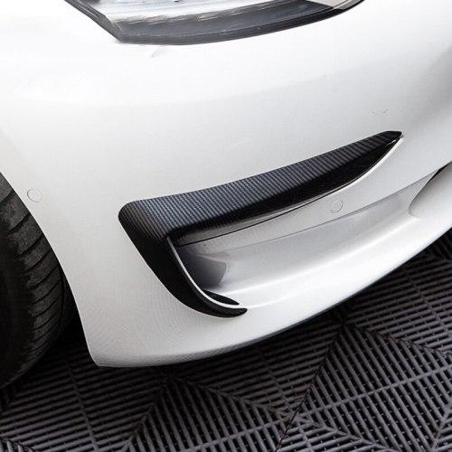 Front Fog Lamp Spoiler Blade for Tesla Model 3 / Y