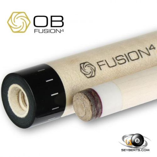OB Fusion 4 10 Thread Stitched Cue Shaft