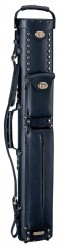 Instroke 2X4 Black Leather Cowboy Cue Case