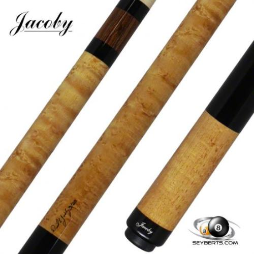 Jacoby 0320-56 Light Golden Stained Birdseye Maple Pool Cue