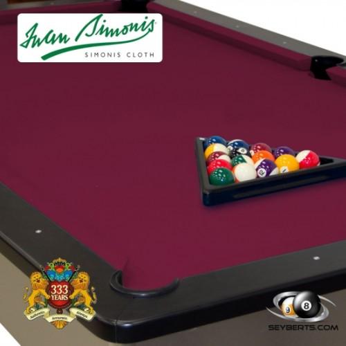 Simonis 760 Cloth - Wine