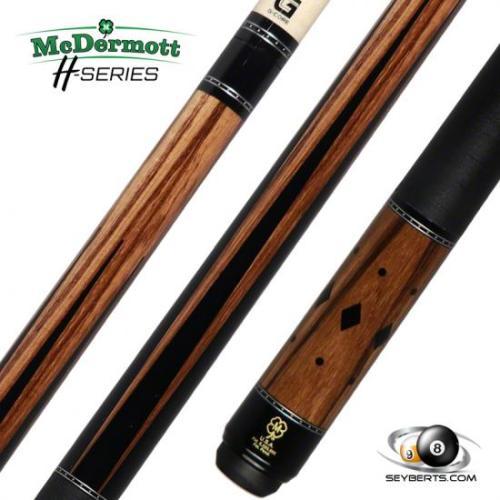 McDermott Zebrawood H750 Cue