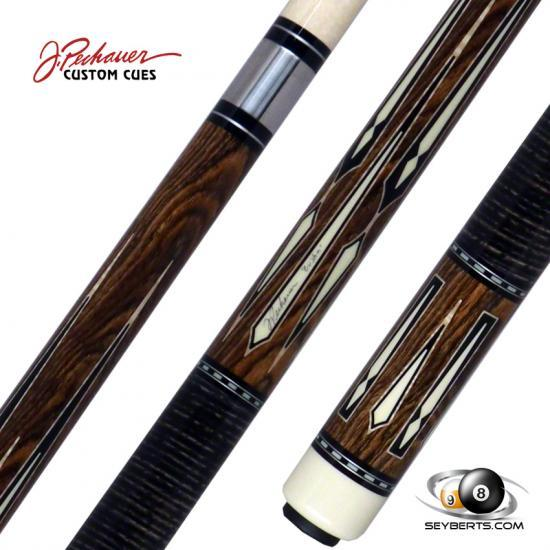 Pechauer 1 of 1 Bocote Custom Stacked Wrapped Pool Cue