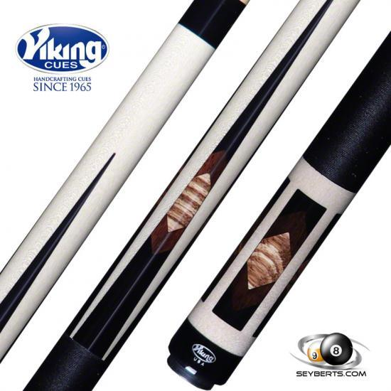 B3821 Viking 40 West African Zebrawood East Indian Rosewood Pool Cue