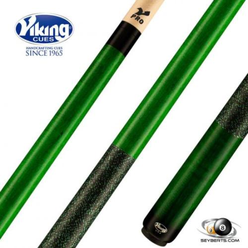 Viking B2203 Emerald Stained Play Cue Linen Wrap