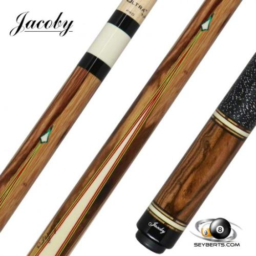 Jacoby 0221-26 4 Point Tiger Caspi Pool Cue