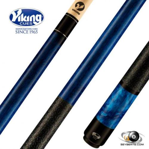 Viking B2807 Ocean Blue Stained Blue Pearl Play Cue Linen Wrap