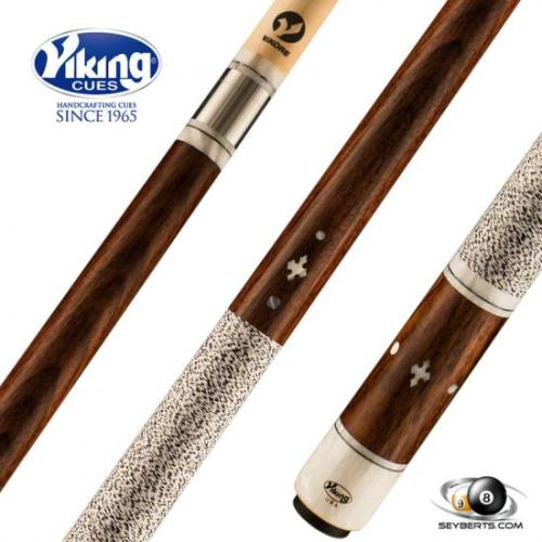 Viking B4509 East Indian Rosewood White Pearl Play Cue Linen Wrap