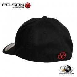 Poison Cues Flex-Fit Pool Hat
