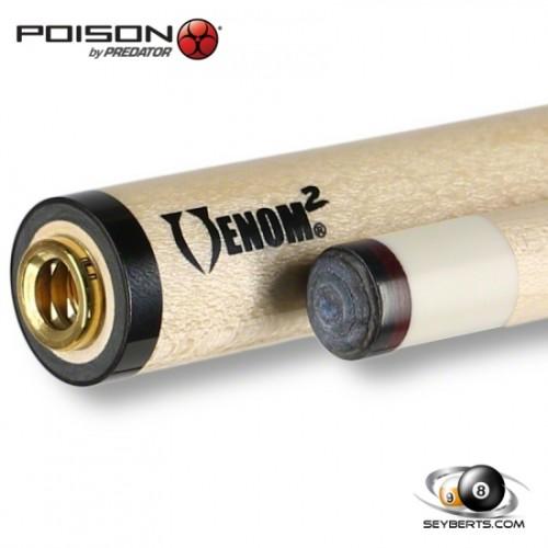Poison Venom 2 Bullet Joint Cue Shaft