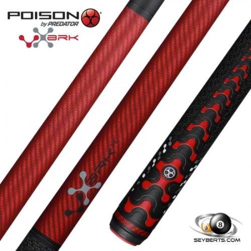Poison VX5 Red Break Jump Cue