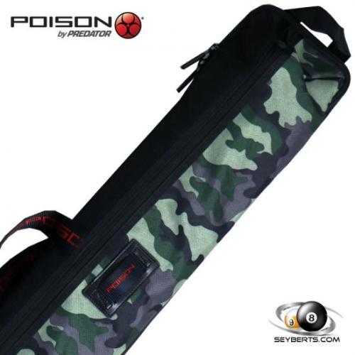 Poison Camo 2x4 Soft Pool Cue Case