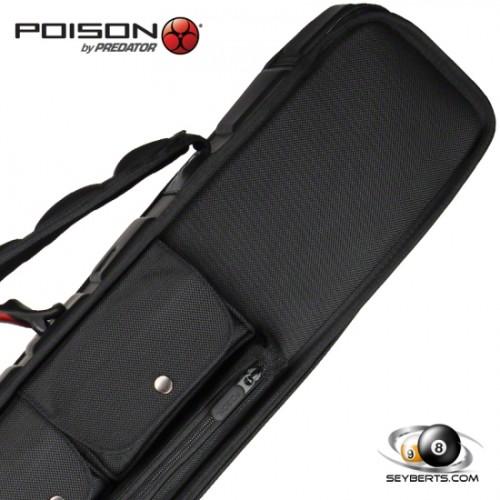 Poison Armor 3x4 Soft Pool Cue Case