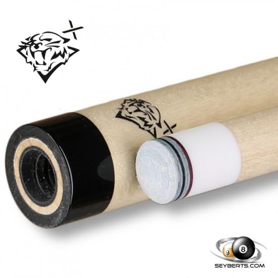 Tiger X 3/8 X 10 Thread Black Collar Shaft