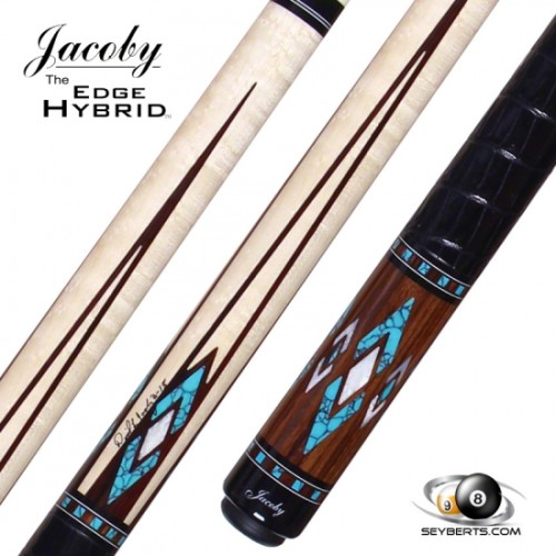 Jacoby HB4T Birdseye Maple Turquoise Cue
