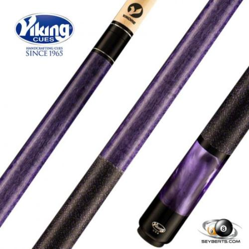 Viking B2806 Concord Stained Purple Pearl Play Cue Linen Wrap