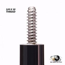 Tiger X 3/8 X 10 Thread Silver Ring Shaft