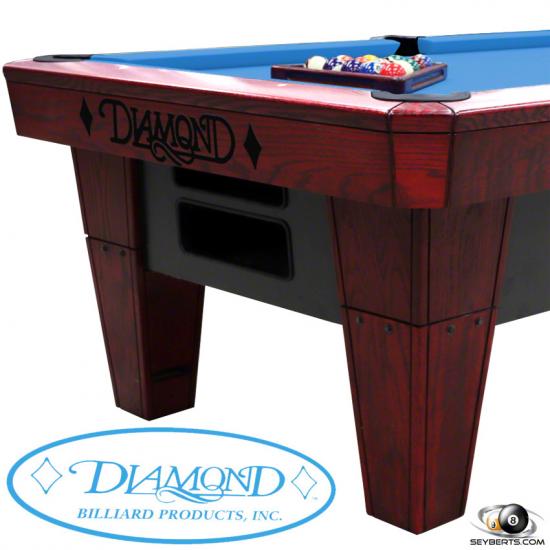 Diamond Pool Tables -  7ft Pro-Am Pool Table - Oak Cherry