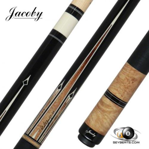 Jacoby 0221-33 8 Point Maple Burl Pool Cue
