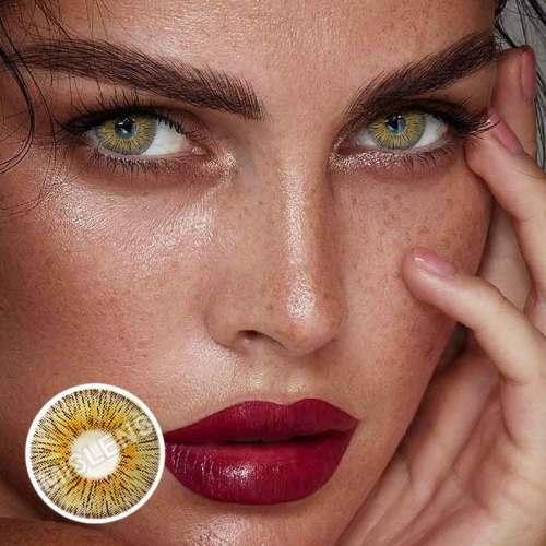 【LENSPOEM】New York Panama Colored Contact Lenses