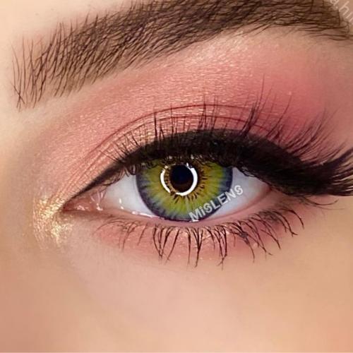 【LENSPOEM】New York Rihanna Prescription Colored Contact Lenses