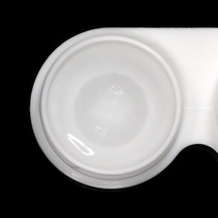 Polar Lights Grey Prescription Colored Contact Lenses