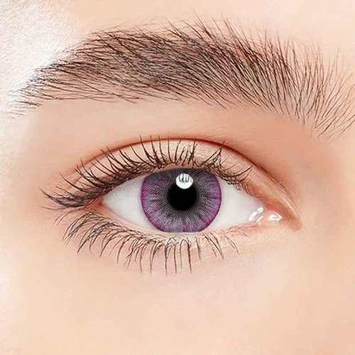 【LENSPOEM】Glacier Purple  Colored Contact Lenses