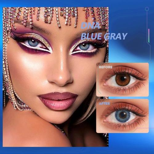 DNA Taylor blue gray Contact Lenses