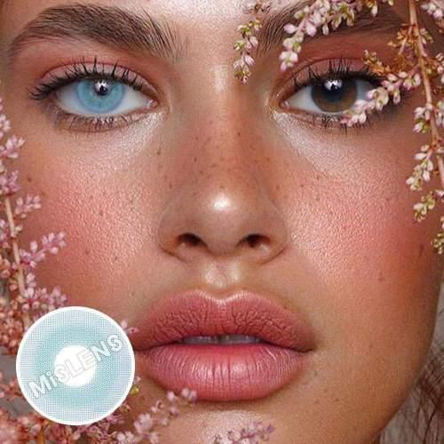 Pixie Blue Prescription Colored Contact Lenses